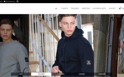 Vanter luxury streetwear | Woocommerce webshop